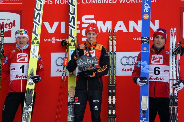 Gesamtsieger Nordic combined triple Seefeld 2014