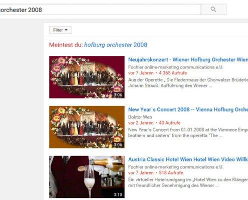 Doktorweb Online Marketing YouTube