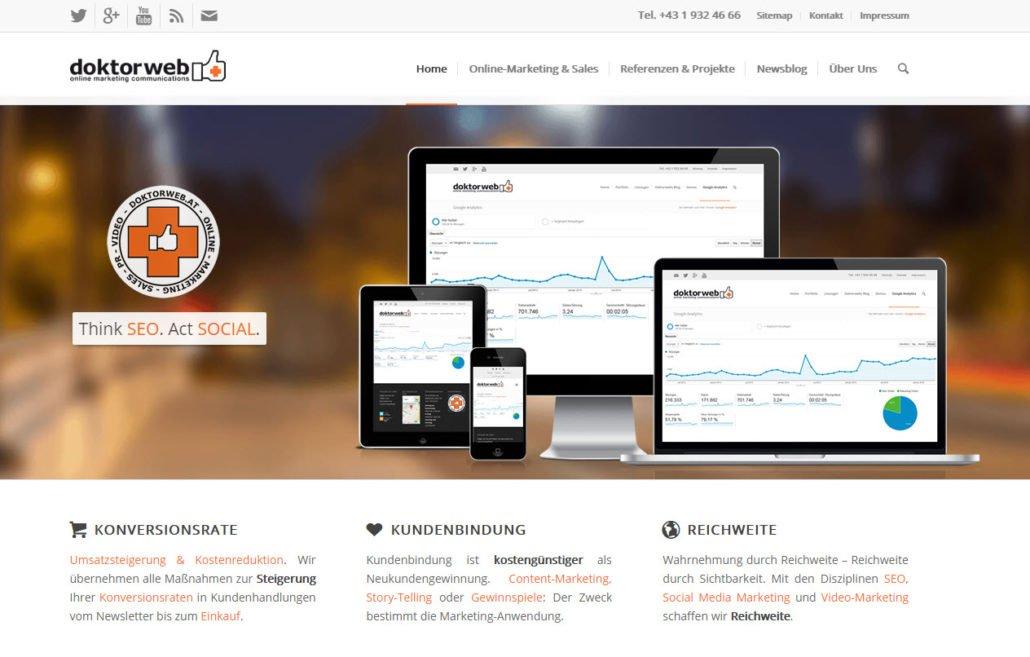 Doktorweb Website
